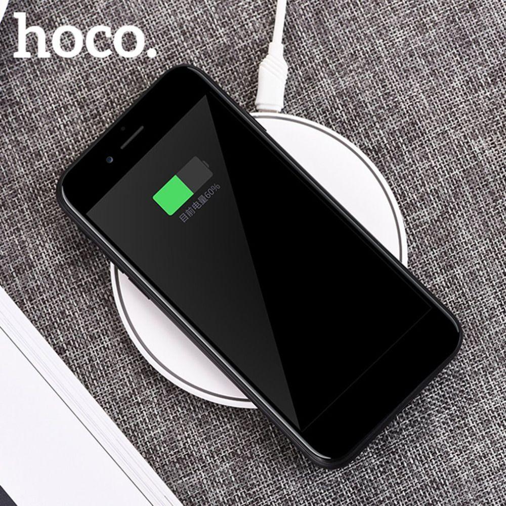 HOCO CW6 Qi Sans Fil Chargeur Portable Dispositif De Charge Pour Samsung Pour iPhone Mobile Support Téléphonique Pour Qi Standard De Charge