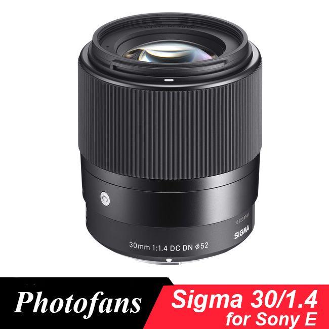 Sigma 30mm f1.4 DC DN Zeitgenössische Objektiv für Sony E A5000 A6000 A6300 A6500