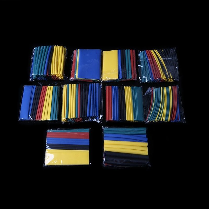 410 Pcs 10 Value Heat Shrink Tube Tubing Wrap Sleeve Wire Cable Assorted Kit L15