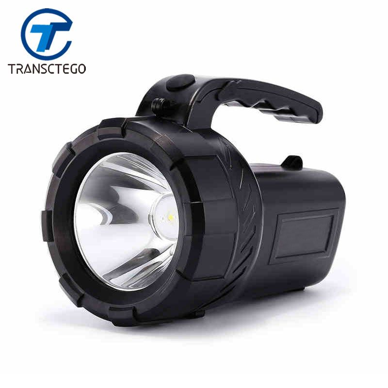 Flashlight Led Lantern Searchlight 18650 Torch Rechargeable Lantern Long Range Outdoor Waterproof Hunter Lamp Portable Spotlight