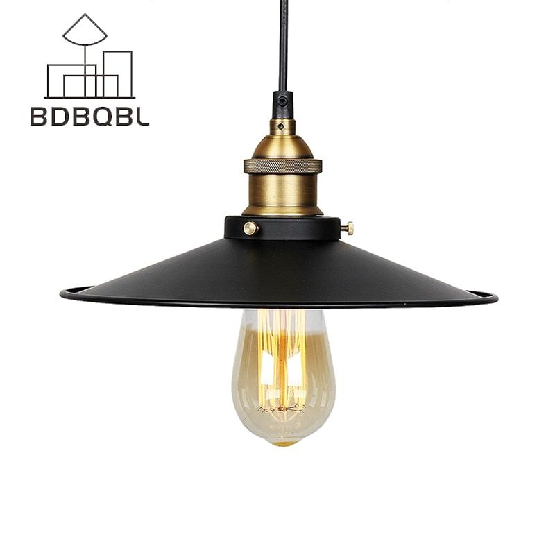 BDBQBL Vintage Pendant Lights Industrial Loft American Retro Lamps creative Restaurant Dining Room Lamp Bar Counter E27 Holder