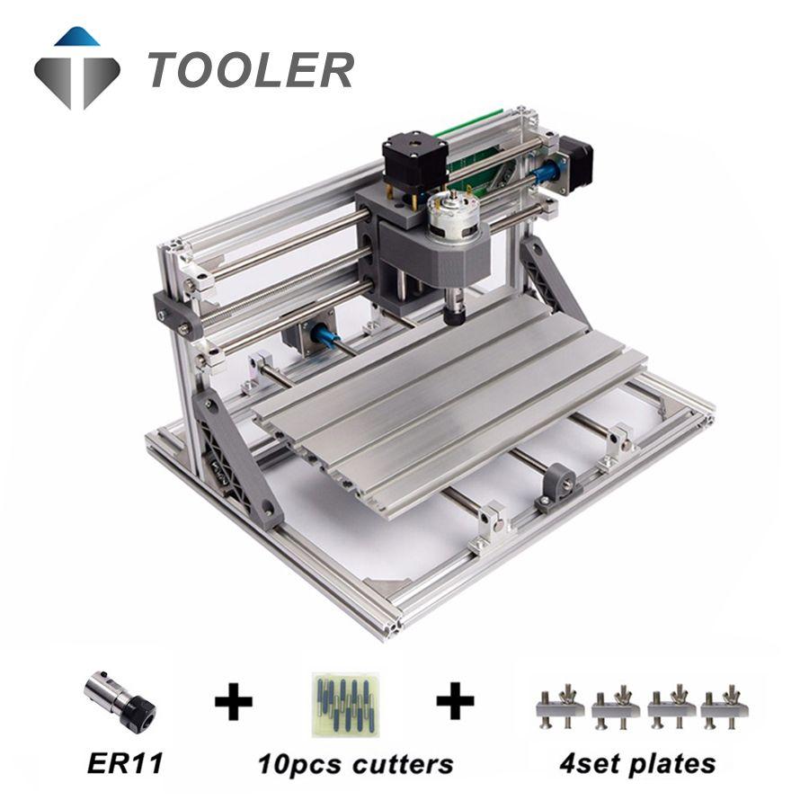 Cnc3018 с ER11, мини ЧПУ для лазерной гравировки, pcb Фрезерные станки, дерево маршрутизатор, лазерная гравировка, ЧПУ 3018, лучшая игрушка