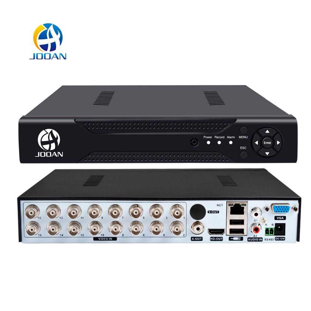 DVR 16CH 8CH 4CH CCTV Video Recorder For CVBS AHD Camera Analog Camera IP Camera Onvif P2P 1080P Video Surveillance DVR Recorder