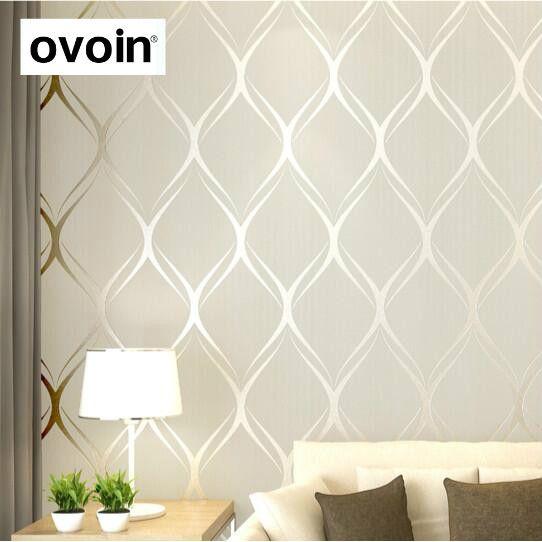 Белый текстурированная Современные Геометрические стены Бумага серый волны стены Бумага рулонов светло-бирюзовый зеленая стена покрытия ...