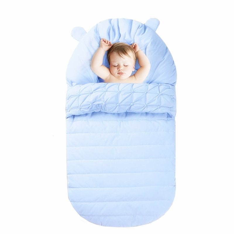 Baby Sleeping Bag Winter Envelope For Newborn Sleep Thermal Sack Cotton Kids Winter Baby Sleep Sack In The Carriage Wheelchairs
