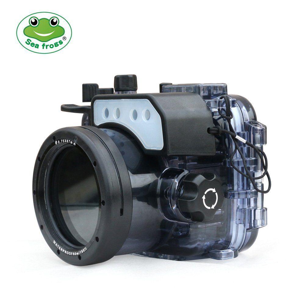 Seafrogs 60 mt/195ft Unterwasser Kamera Wasserdichte Gehäuse Fall Für Sony RX100/RX100 II/RX100 III/ RX100 IV/RX100 V