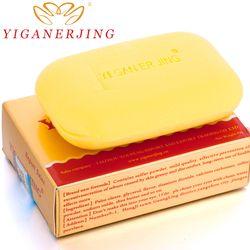 Yiganerjing Soufre Savon Peau Conditions Acné Psoriasis Séborrhée Eczéma Anti Champignon De Bain blanchiment savon shampooing fabrication de savon