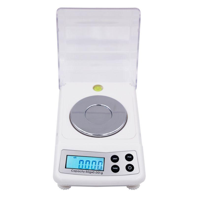 Haute Précision 50g 0.001g Électronique Numérique Échelle Bijoux Balance Gram Échelles 20%