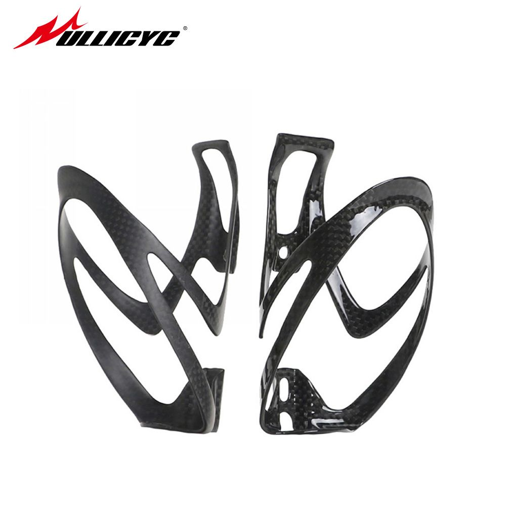 nologo glossy matt full 3k Carbon Fiber Road Mounting Bicycle Bike Cycling Water Bottle Holder Cage carbon bottle cage SHJ80-E