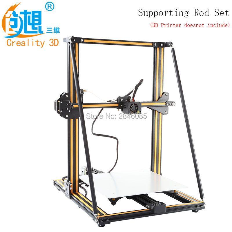 Hot CREALITY 3D Printer Upgrade parts Supporting Rod Set for Creality 3D CR-10 CR-10S CR-10 S5 3D Printer