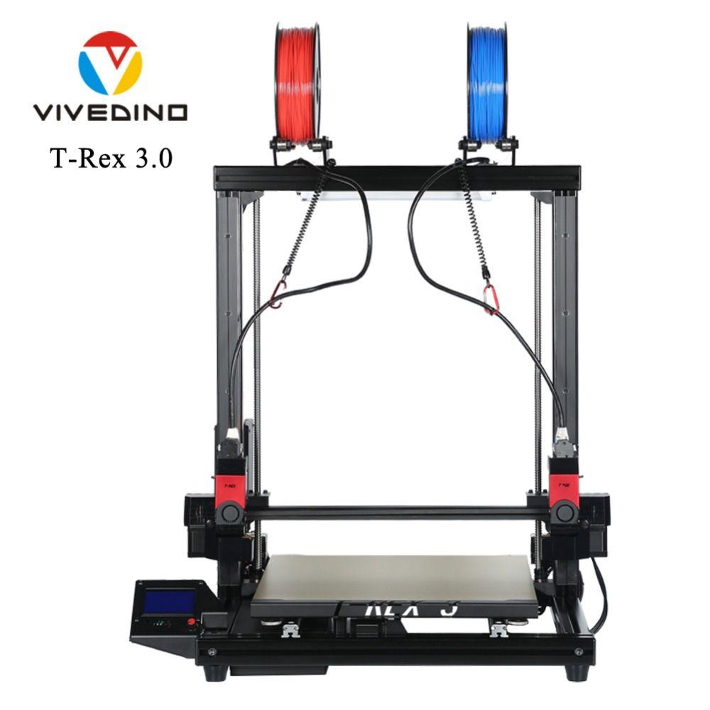 Unabhängige Dual Extruder 3D Drucker Neue Jahr Angebote