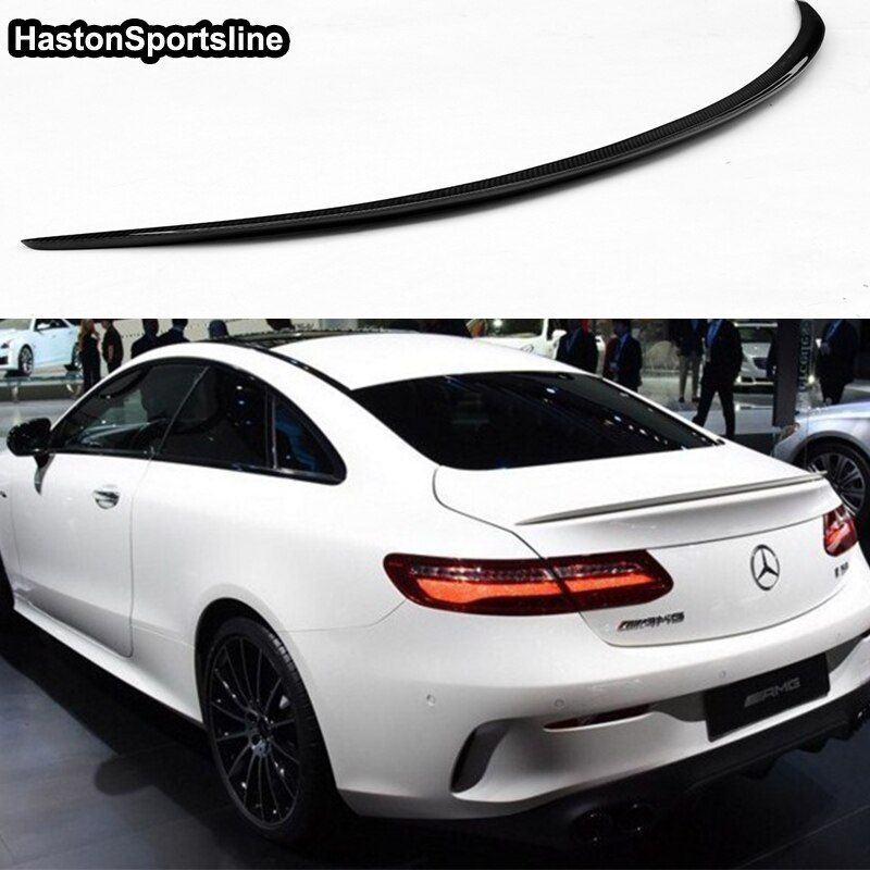 W238 C238 E250 E400 E500 E550 E Klasse Carbon Faser AMG Stil Auto Auto Hinten Heckspoiler Flügel für Mercedes benz 2017-2019