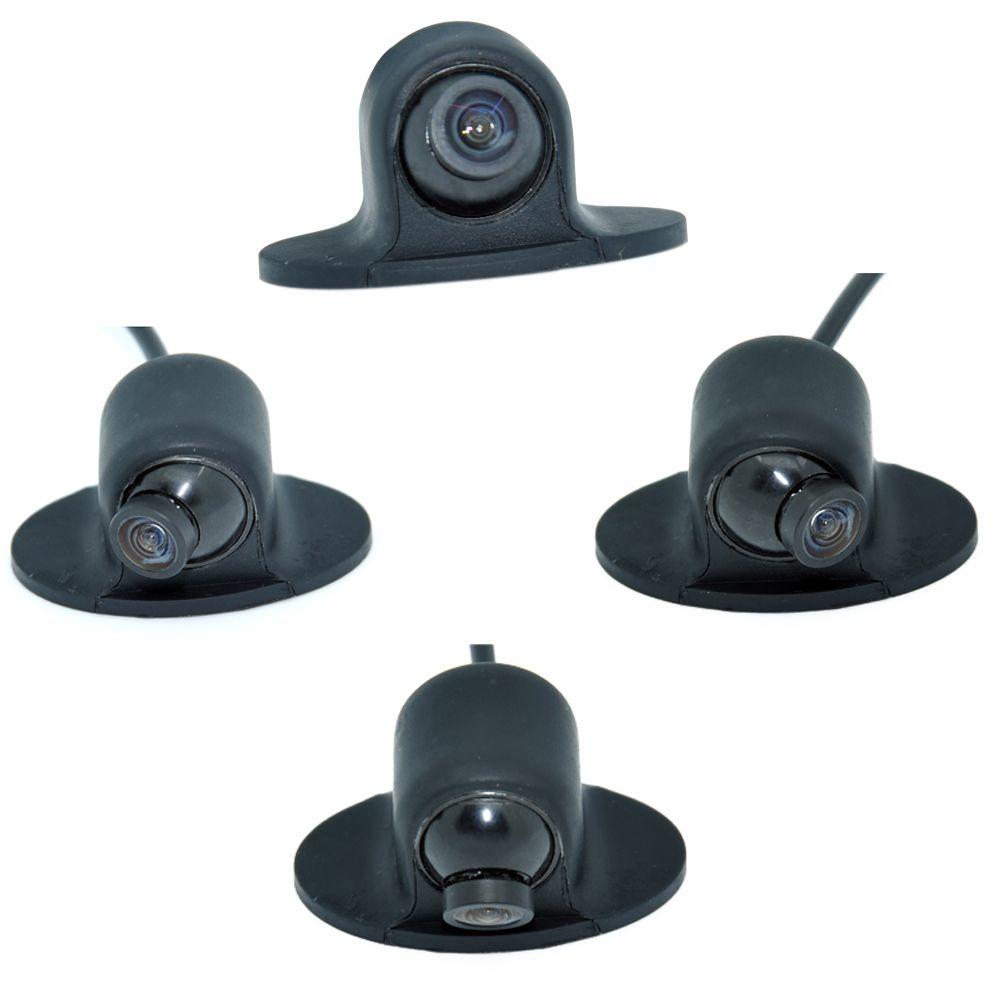 Mini CCD HD Nachtsicht 360 360-grad-rückfahrkamera Frontkamera Vorderansicht Seite Unterstützungskamera WF