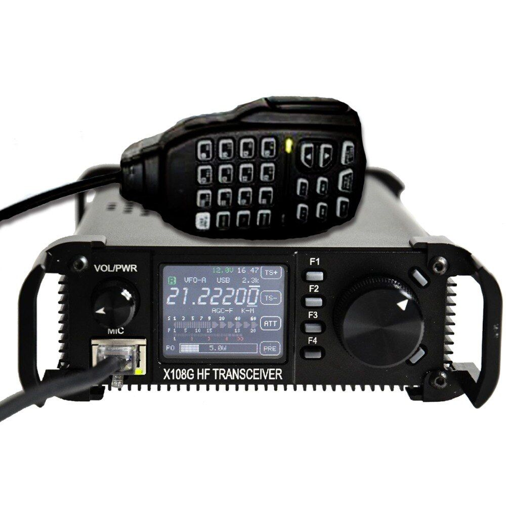 Xiegu X-108G Outdoor Edition X108's Upgraded Version 0.5-30MHz CB HF Amateur Ham Mobile Transceiver HF CB HAM Amateur Radio