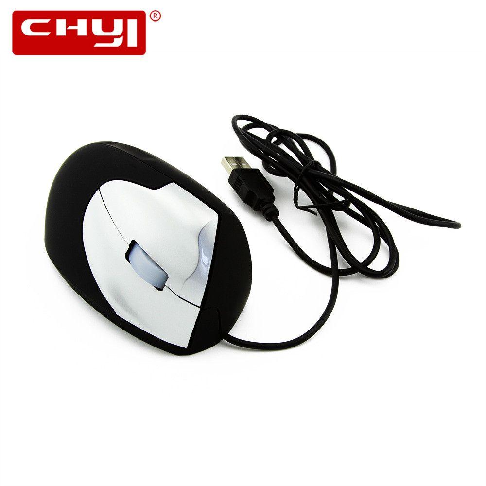 Souris verticale filaire USB ergonomique 800/1200/1600DPI jeu optique Mause poignet souris d'ordinateur de guérison pour ordinateur portable ordinateur de bureau Gamer