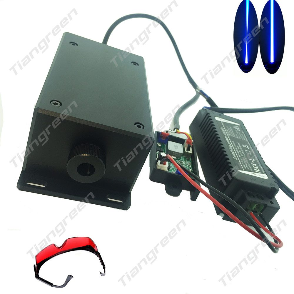 17w High power diode Focus Blue module 450nm TTL Driver for cnc laser engraver Metal 17000mw