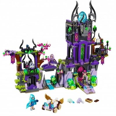 mylb Building Blocks Model Compatible Legoes Elves Laguna Dark Magic Castle Original Fairy Toy Children drop shipping