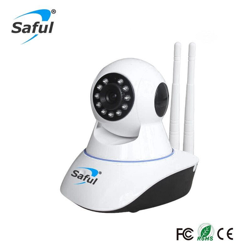 Saful Sans Fil Caméra IP WiFi 720 P/960 P/1080 P Home Security Baby Monitor Nuit P2P réseau ir-cut Caméra de Surveillance