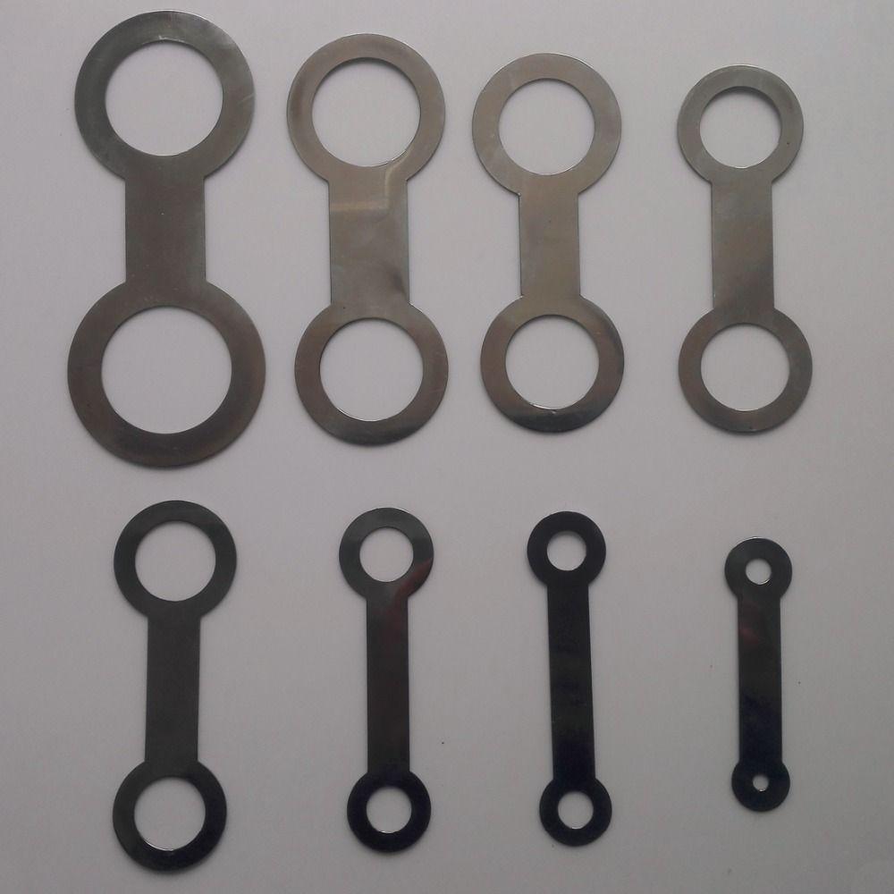8 Pcs Bläser Saxophon Reparatur Werkzeug Ersetzen Pads Eisen
