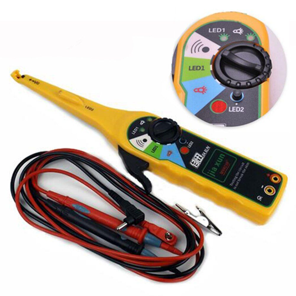 JIAXUN Car Diagnostic Tester Pen Car LED Auto Power Electric Circuit Tester Lamp Probe Light 0-380 Volt Free Shipping