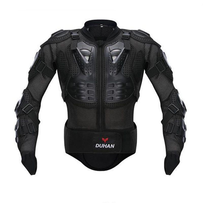 DUHAN Hot Motorcycle Full Body Armor Jacket Spine Chest Protection Gear Jacket Body Protection Motorcycle Armor Jacket