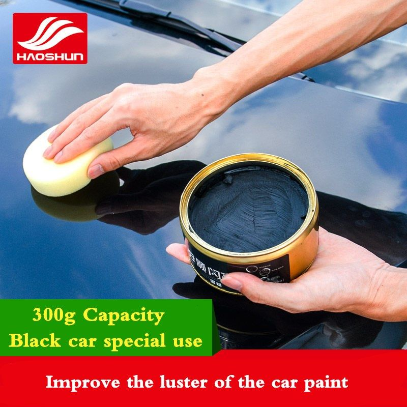 Auto Care Car paint care Wax polishing paste Anti-scratch Car repair agent Cystal Plating Waterproof black hard wax glossy layer