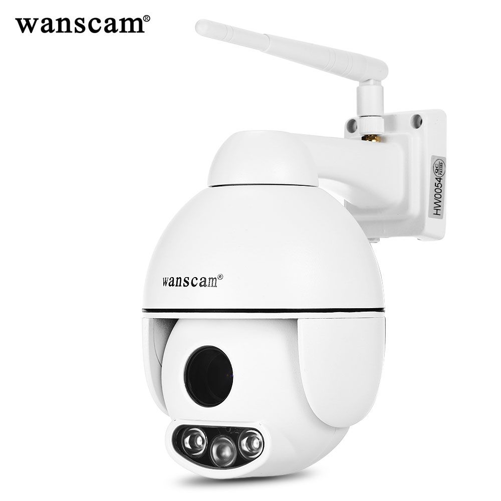WANSCAM HW0054 1080P HD WiFi Outdoor IP Camera 5 Times Optical Zoom P2P Motion Detection Two-way Audio Outdoor Security Camera