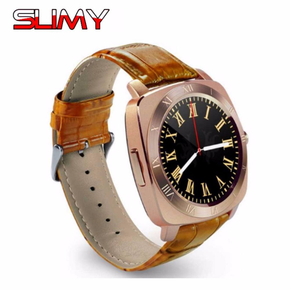 Slimy Bluetooth Smart Watch Phone X3 Support SIM/TF Reloj Inteligente Smartwatch Hours Clock for Kids Adult for Apple Android