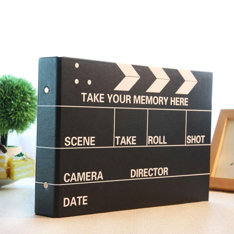 10 pouces bricolage Album Photo noir Photos de mariage enfants famille amoureux cadeau d'anniversaire Type collant mémoire disque Scrapbook Album