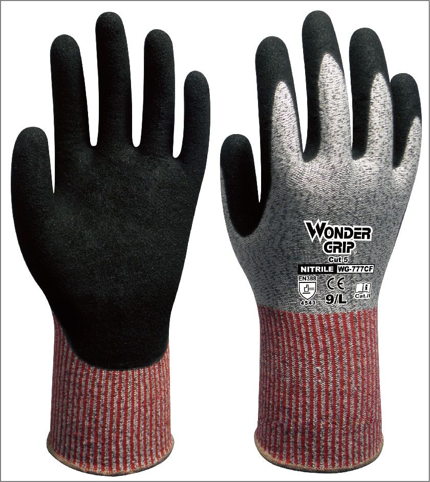 Gants Anti-coupure en Fiber d'aramide gants Anti-coupure gants de travail résistants aux coupures HPPE