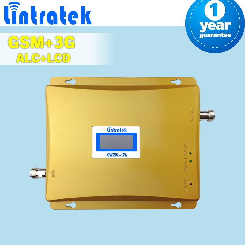 Dual Band 2g GSM 900 3g Cellular Signal Verstärker LCD Display 900 + 2100 (Band 1) handy Handy-Booster 3g Repeater S54