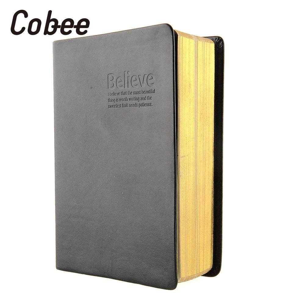 Cobee  Retro Classic Antique Memo Diary Sketchbook Notepad Jotter Leather Cover Blank Pages Notebook School Supplies