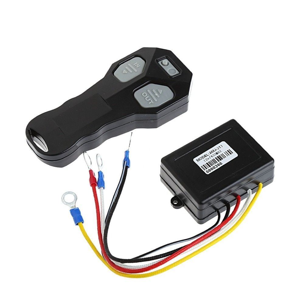 Remote Control Winch Kit DC 12V Wireless For Bulldog Jeep ATV SUV Offroad MAY23_30