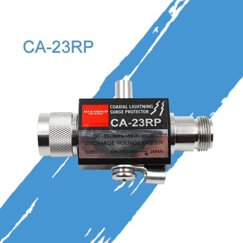 General Diamond CA23RP coaxial lightning surge protector 2.5GHZ 400W N connector for car radio basic station