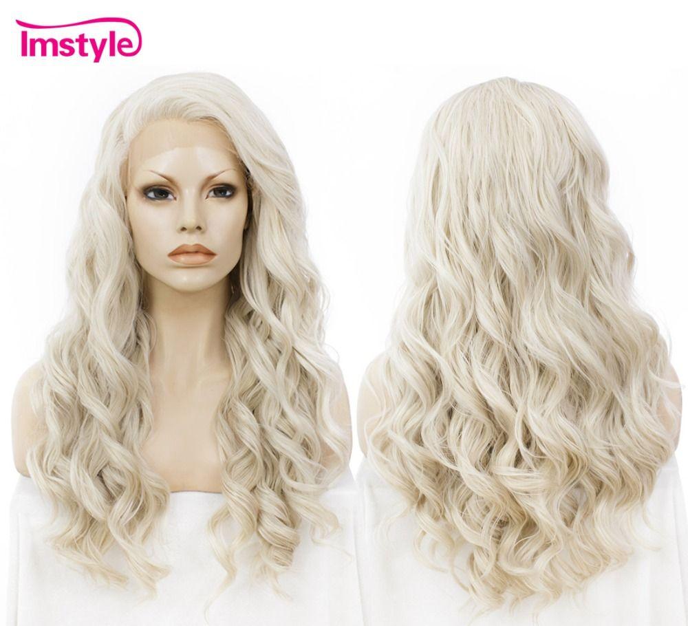 Imstyle Wavy wig honey ash Blonde 24