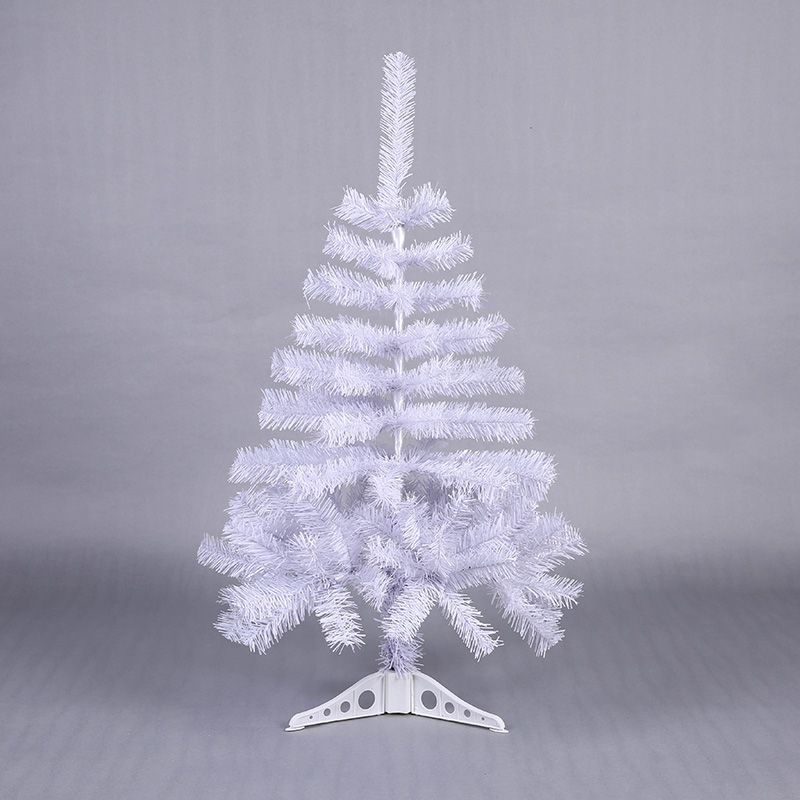 90cm Artificial Decorated Snow Christmas Tree White Xmas Plastic Tree New Year Home Ornaments Desktop Decorations Christmas Tree