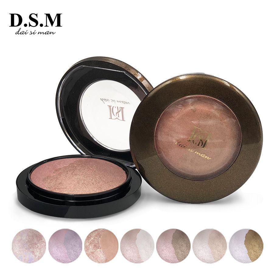 D.S.M Populaire Surligneur Minéraliser Poudre Éclaircir Étanche Visage Maquillage Soulignant Blush Cosmétique Bronzer et Surligneur