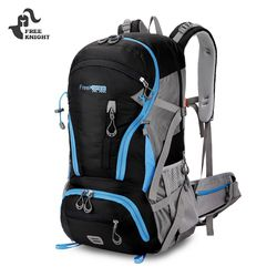 Free Knight 0212 45L Climbing Hiking Molle Ransel Perjalanan Berkemah Ransel Olahraga Tas Tahan Air