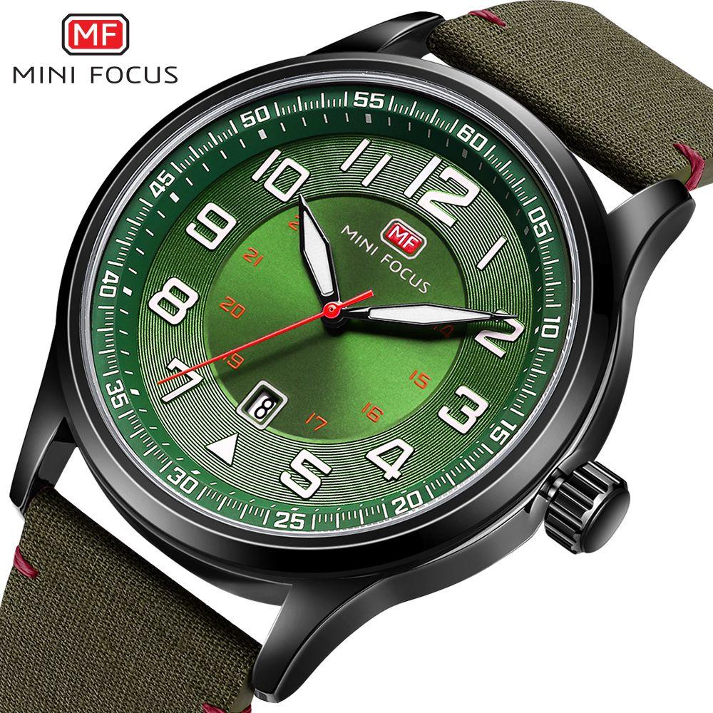 MINI FOCUS Wrist Watch Men Top Brand Luxury Famous Male Clock Quartz Watch Wristwatch Quartz-watch Relogio Masculino MF0166G.04