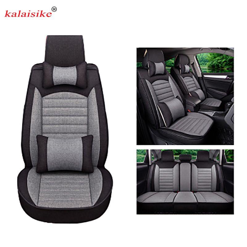Kalaisike Flachs Universal Autositzbezüge für Citroen alle modelle C4-Aircross C4-PICASSO C5 C4 C2 C6 C-Elysee C-Triomphe