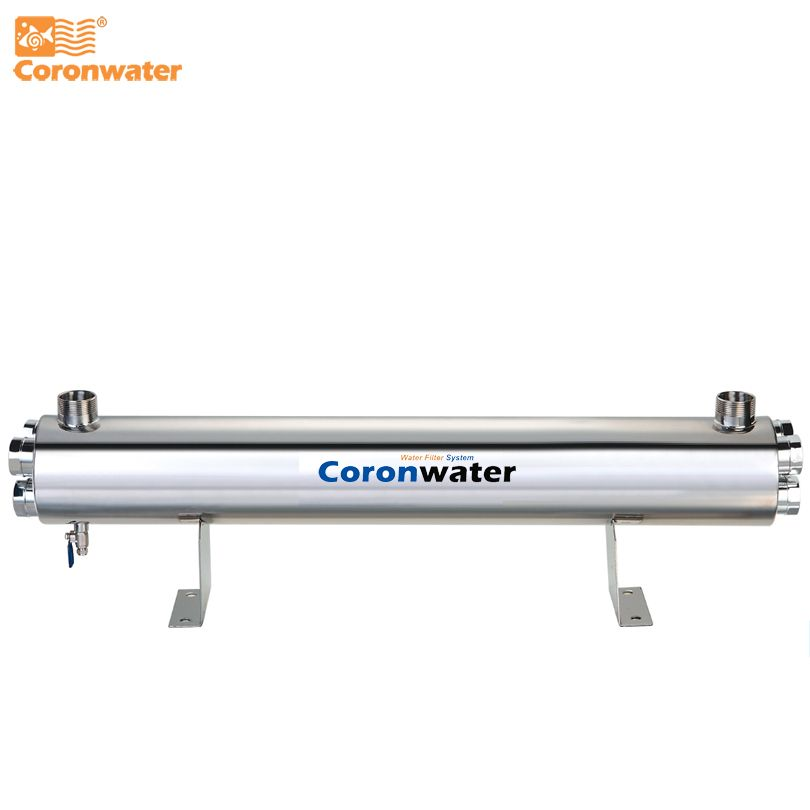 SS304 48 GPM UV Water Sterilizer 220W Water UV Disinfection System