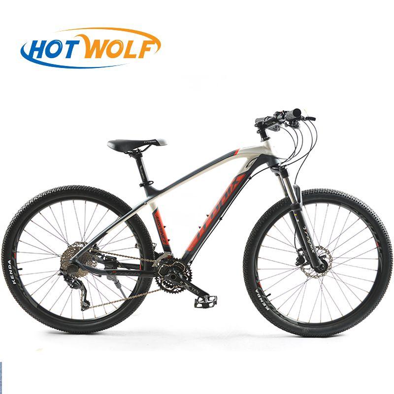 Hohe Qualität 27,5 zoll fahrräder Stahl 30 speed Aluminium rahmen mountainbike skid Pedal Hydraulische scheiben bremsen fahrrad TROPIX