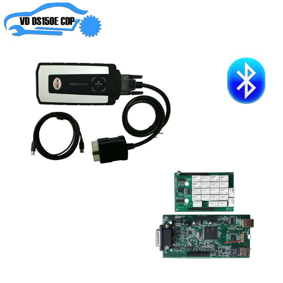 DHL 2PCS/LOT ne-c relay with house case for WOW CDP SNOOPER with Bluetooth 5.008 R2 newest version send keygen as gift