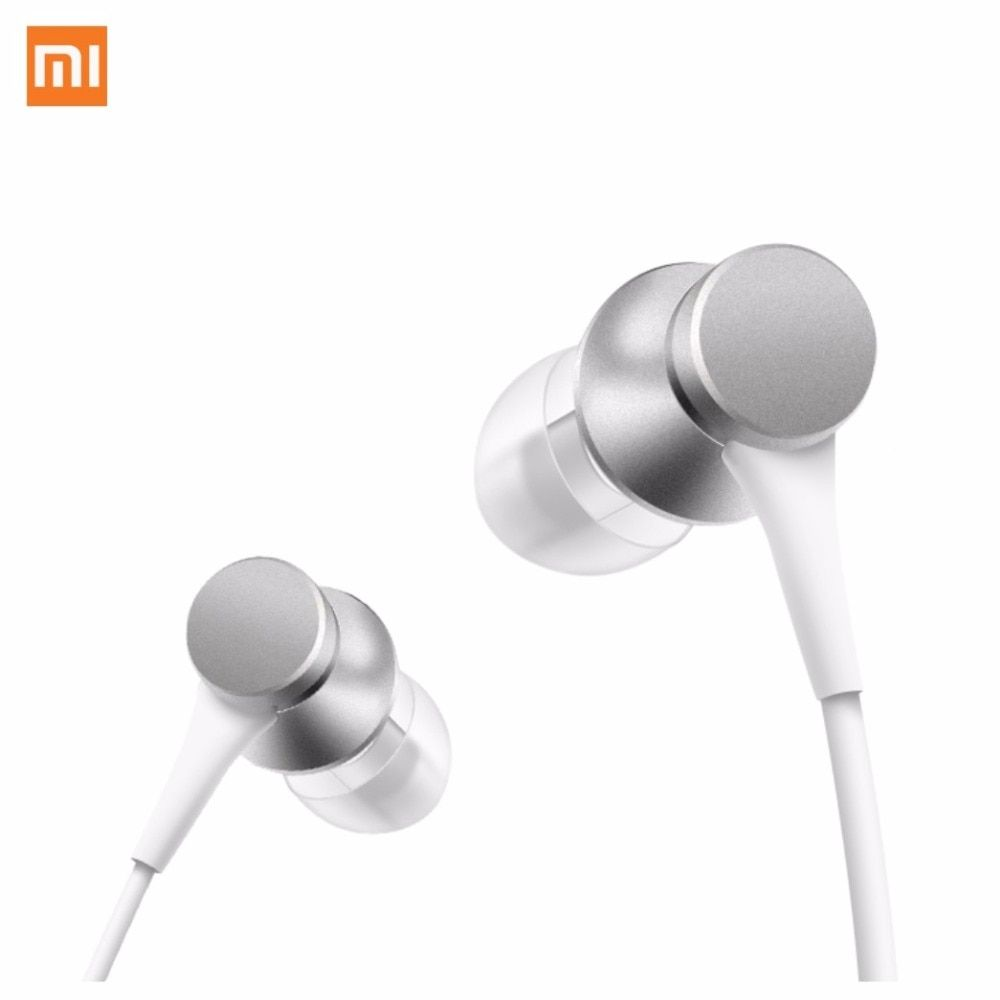 Xiaomi Round Cable Colorfull 1.2M Long Piston Inear Earphones Fresh Version Two Pairs of Earplugs with Mic for Women Men