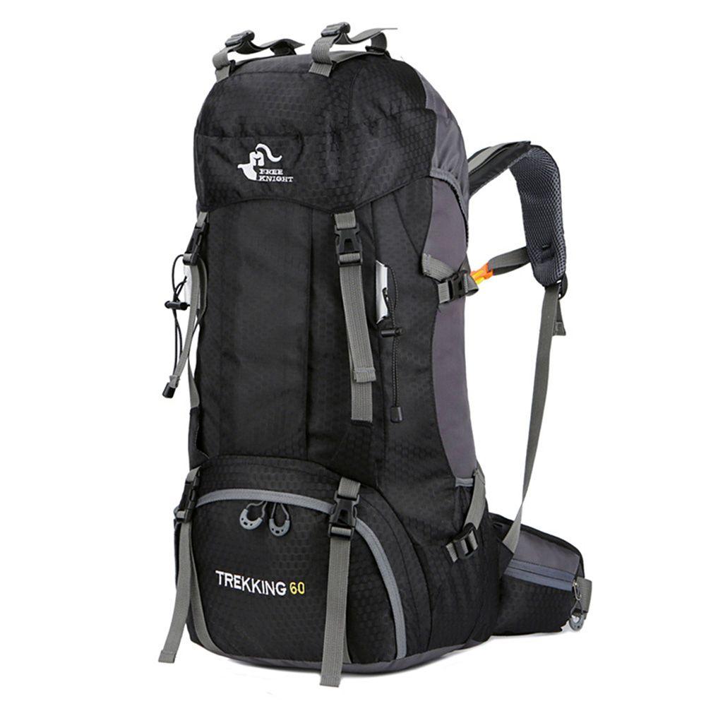 Nouveau 50L & 60L sac à dos extérieur Camping escalade sac étanche alpinisme randonnée sacs à dos Molle Sport sac à dos escalade