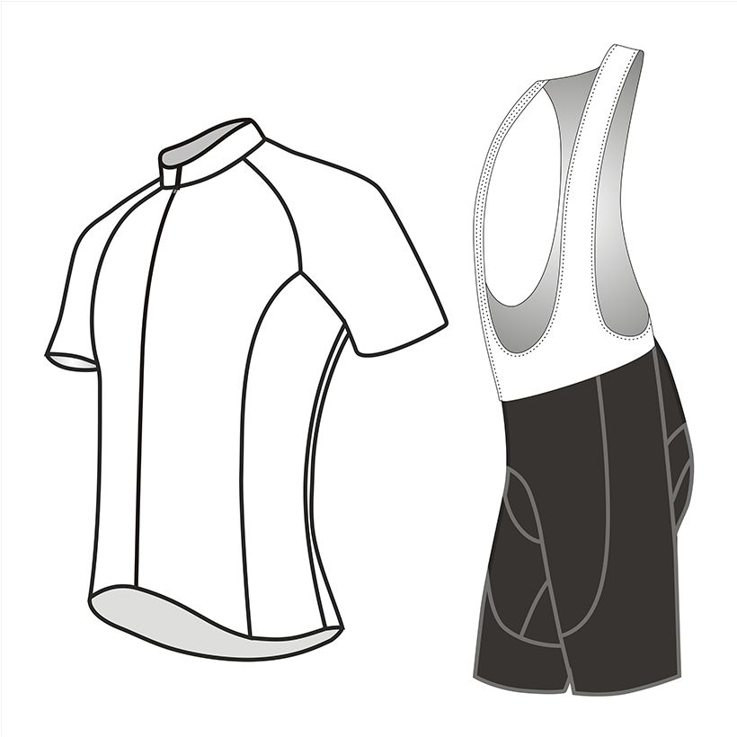 Crossrider brand Custom Cycling Jersey Set Logo Cycling wear Personal Customized Cycling Clothing from China manufacturer
