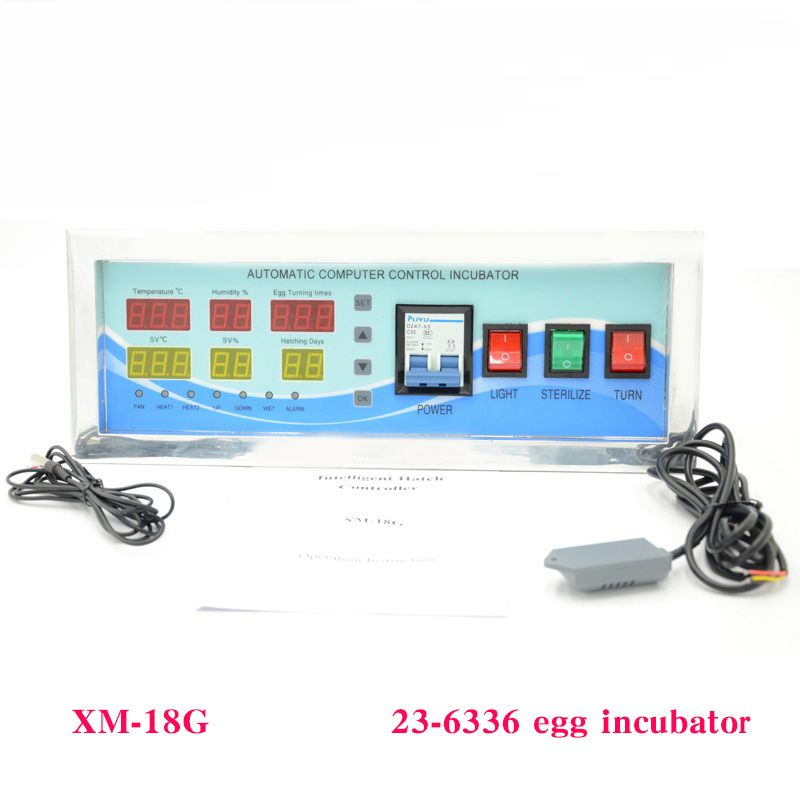 1 Set Incubator Accessories Full Function Temperature And Humidity Incubator Controller xm-18G