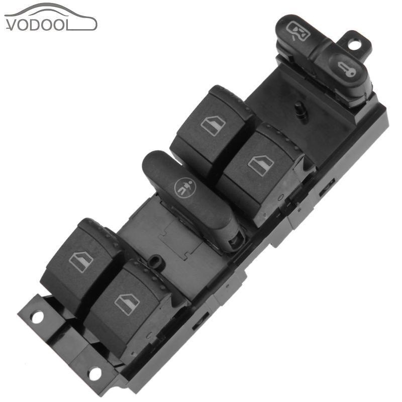 Coche Botón Elevador de Automóviles Ventana de Control Maestro Elevalunas Interruptor para Volkswagen Golf 4 para Passat/Bora B5 B6