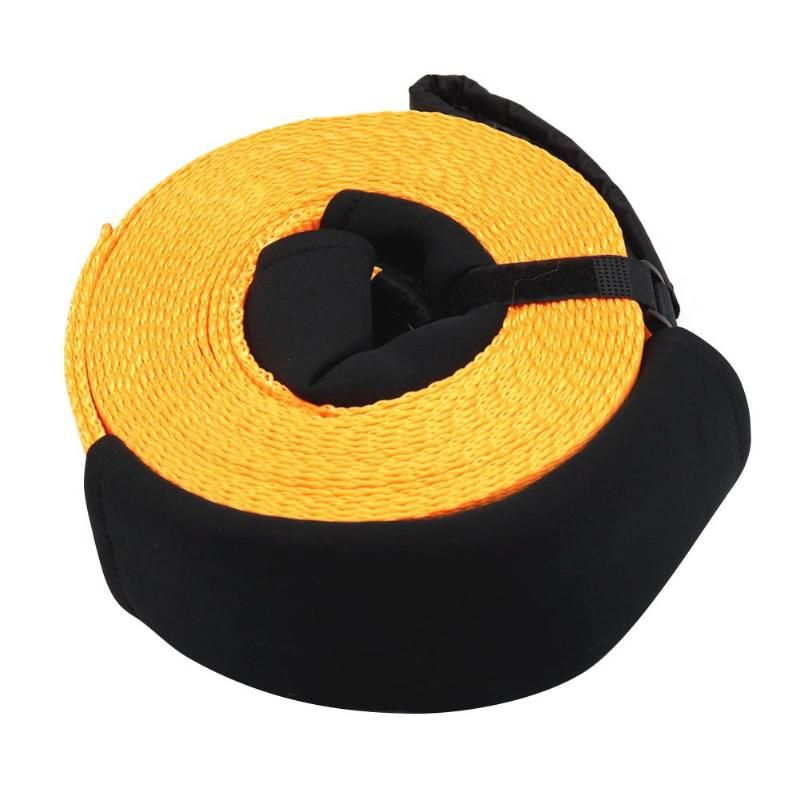 30ftx3in Tow Ropes 8 Tons High Heavy Duty Strength Racing Tow Strap Car Road Recovery Towing Rope Strap Bumper Trailer Universal