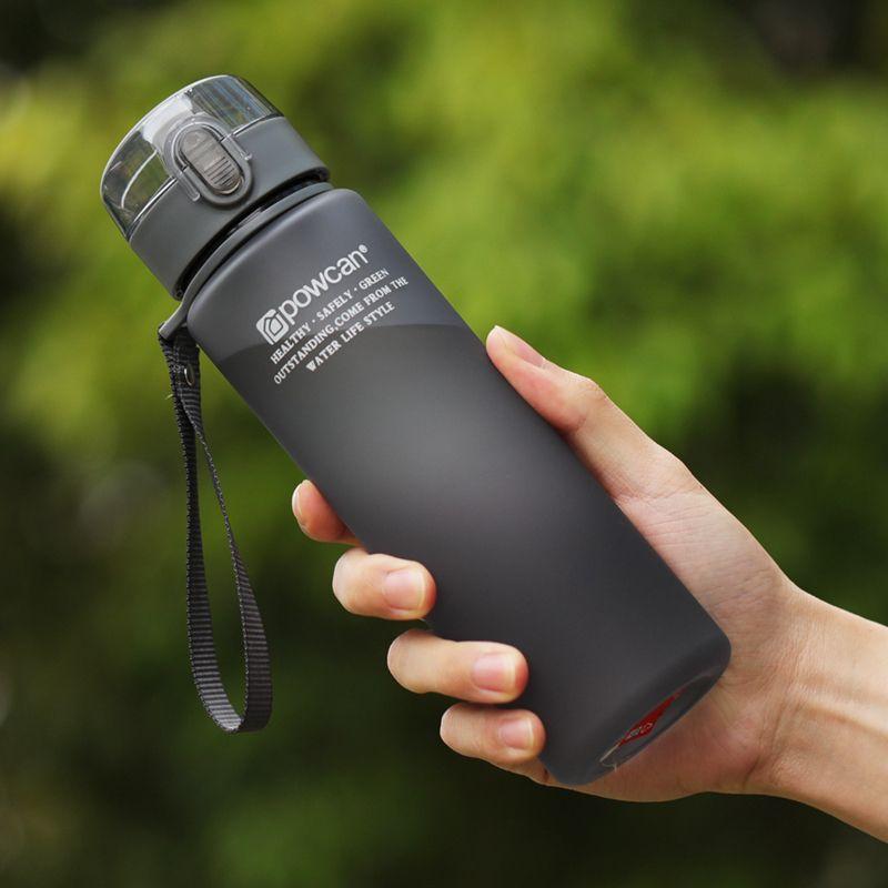 Bouteille d'eau chaude 400 ml 560 ml En Plastique bouteille à boire directe école bouteilles d'eau Shaker bouteille Gourde En Plastique Sport